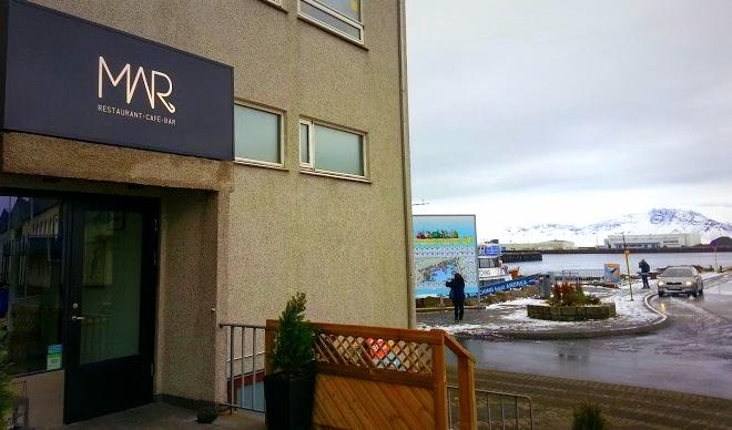 Mar Restaurant in Reykjavik
