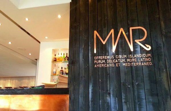 Seafood in Iceland: MAR Restaurant in Reykjavik