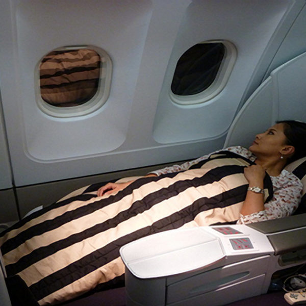 Etihad Airways / Air France Business Class Flight Paris to Abu Dhabi