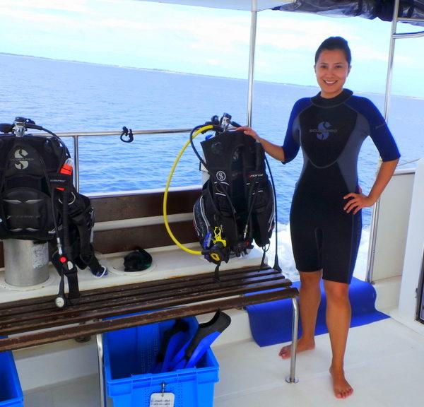 Scuba Diving and Dolphin Cruise in Addu Atoll with Shangri-la Villingili Resort Maldives