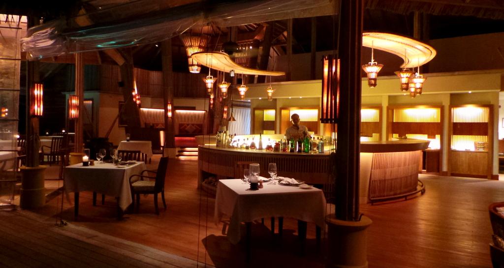 Fashala fine dining at Shangri-la's Villingili Resort & Spa