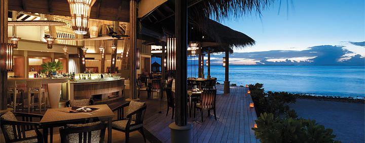 Fashala. Fine dining at Shangri-la's Villingili Resort & Spa