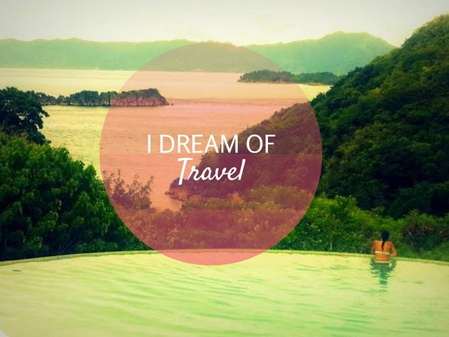 I dream of travel. Even when travelling.
