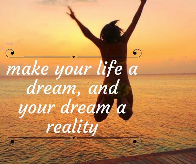 Dream it, and make it happen