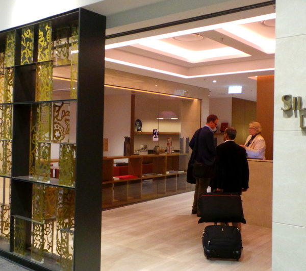 Singapore Airlines SilverKris Lounge – Sydney Airport