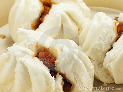 Chinese Pork Buns. Photo from Dreamstime