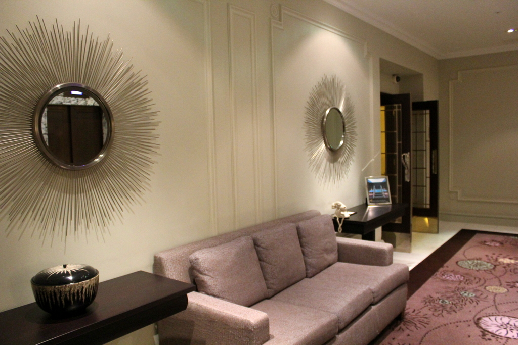 interior decor at The Langham London