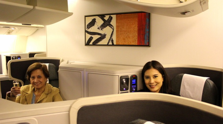 Cathay Pacific CX 256 London to Hong Kong Business Class