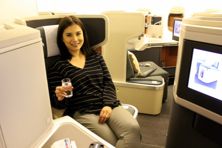 Cathay Pacific CX 256 Business Class London to Hong Kong