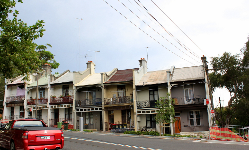 Surry Hills - Heritage listed houses