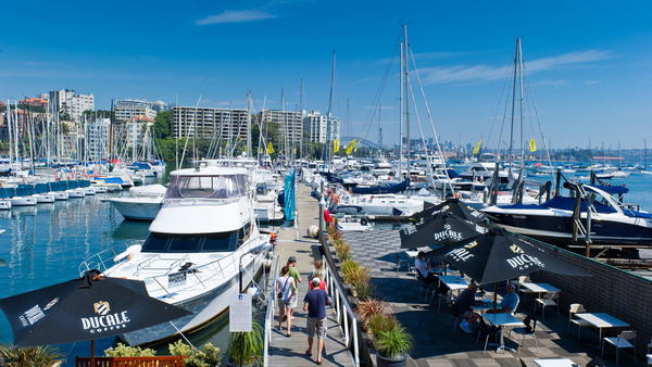 D'Albora Marina in Rushcutters Bay