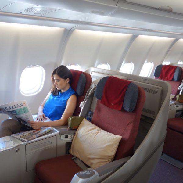 Flight Review: Garuda Indonesia Business Class Sydney to Denpasar (Bali)  A330-300