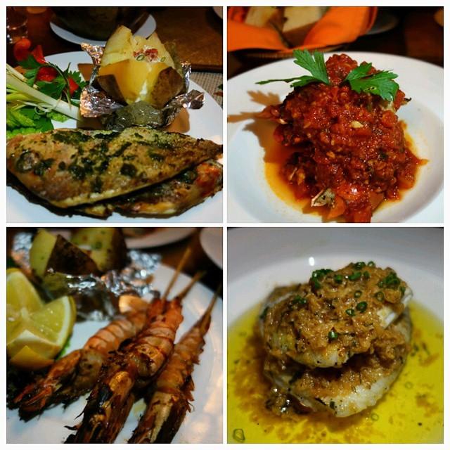 Jimbaran Seafood Style Dinner - Anantara Vacation Club Seminyak Balia