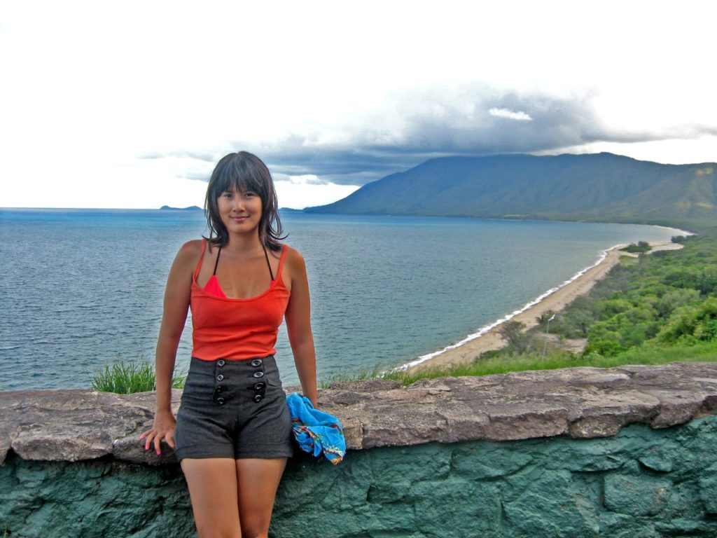 day trip from Cairns to Port Douglas, many years ago