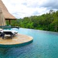 The Pool overlooking the Valley of the Kings. Viceroy Bali