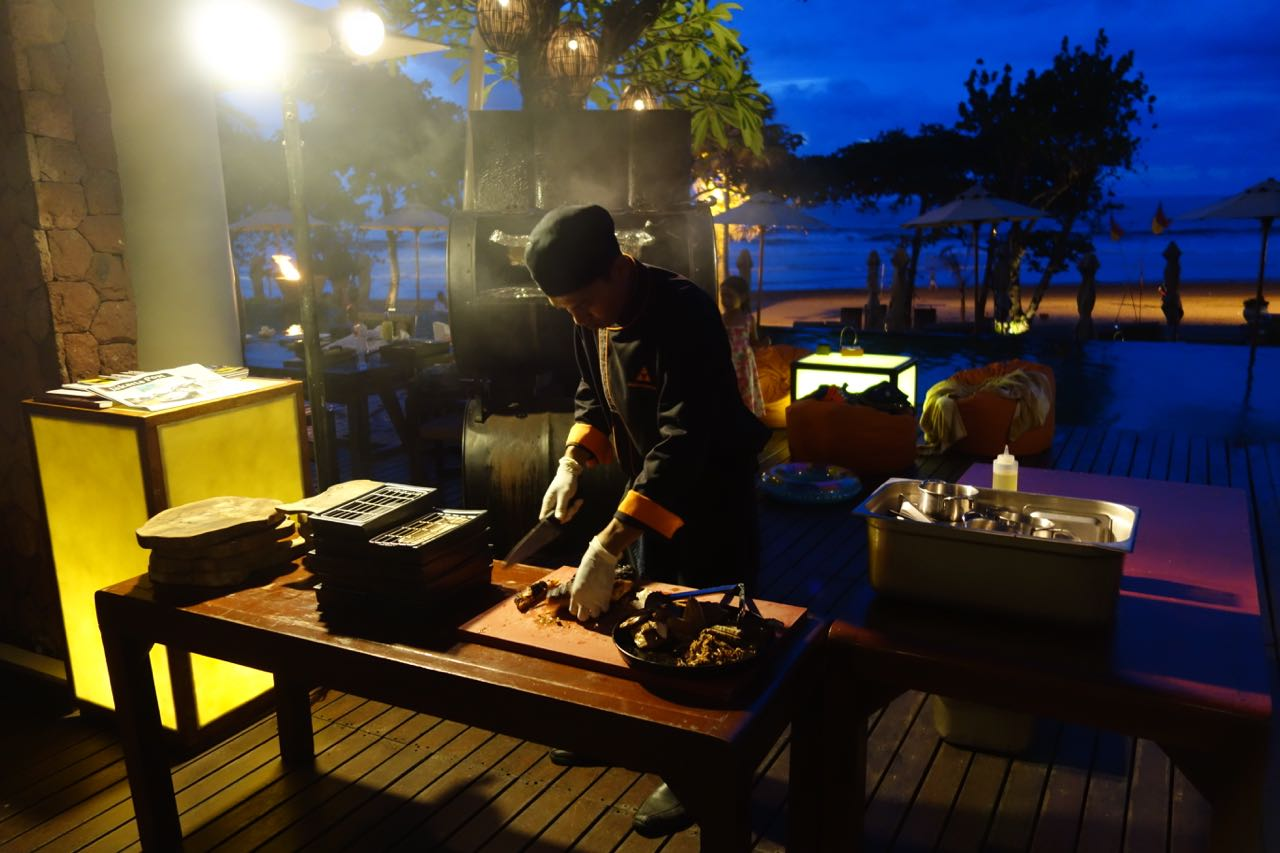 Smokehouse BBQ Evening at Anantara Resort & Spa Seminyak