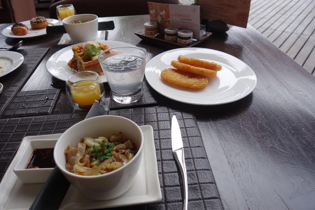 Breakfast at Wild Orchid, Anantara Resort & Spa, Seminyak