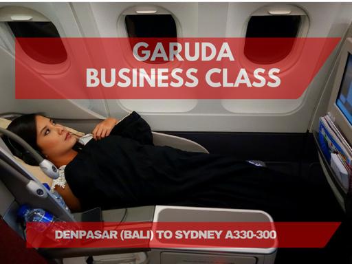 Flight Review: Garuda Indonesia Denpasar to Sydney, Business Class on A330-300