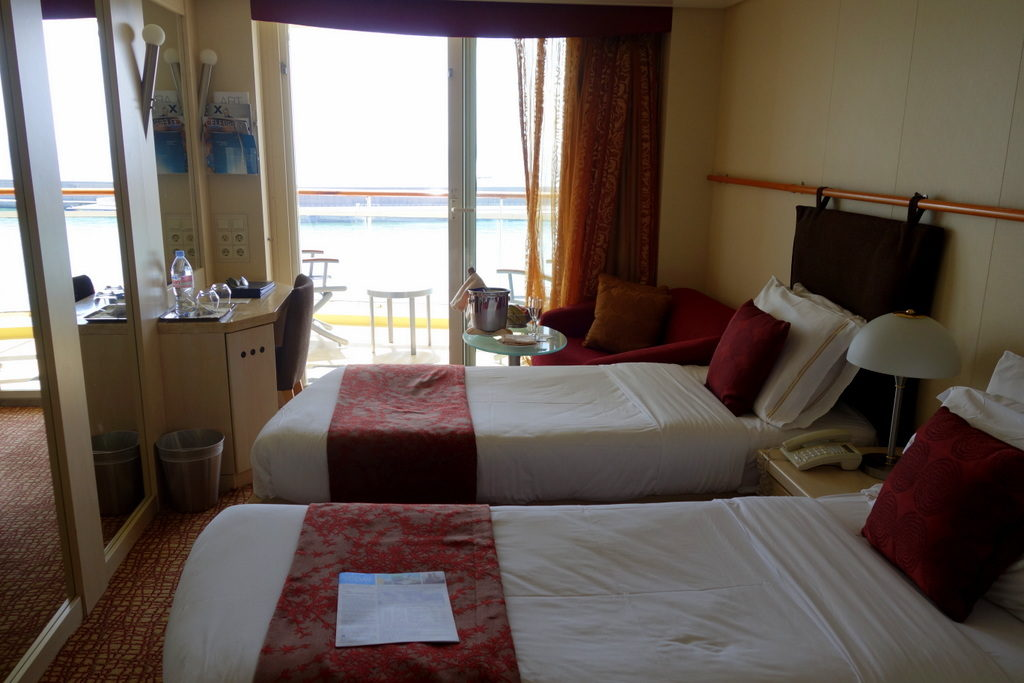 Stateroom with Balcony- Celebrity Constellation