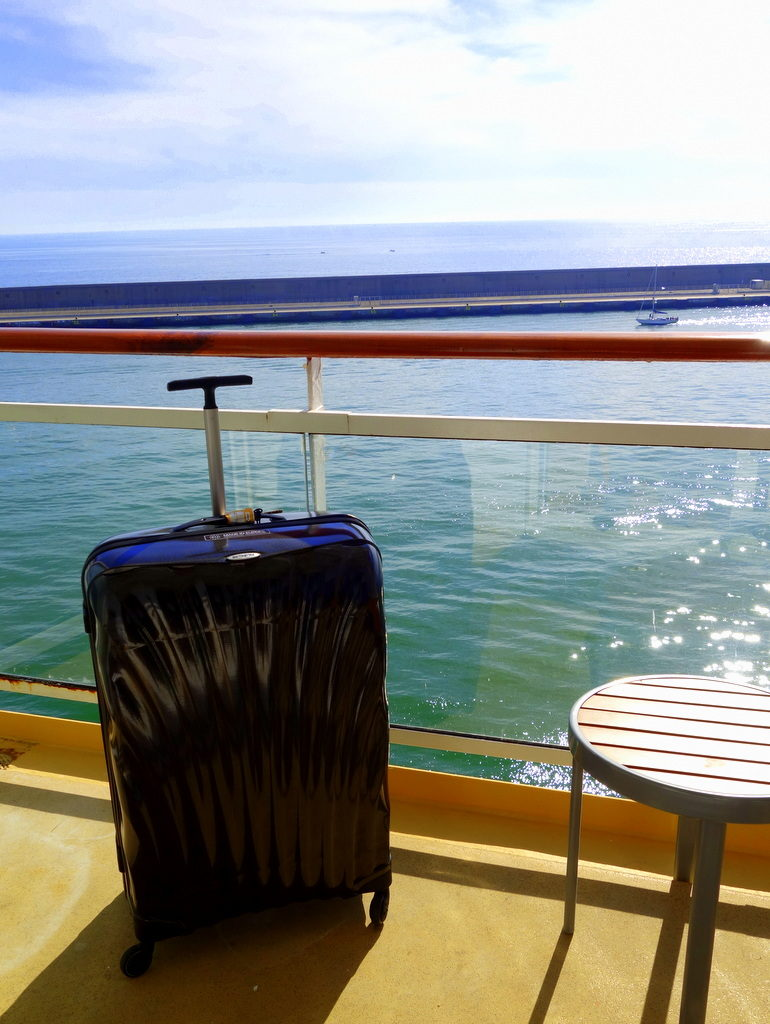 No luggage weight allowance on Celebrity Cruises!