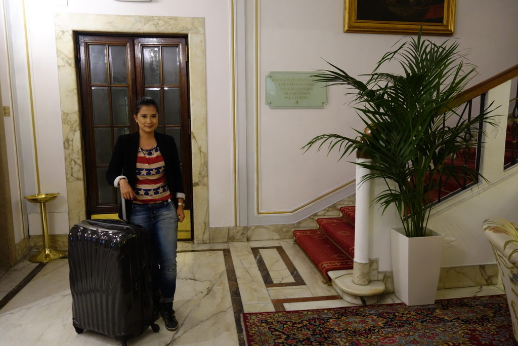 Looking forward to more travels with the Samsonite Cosmolite