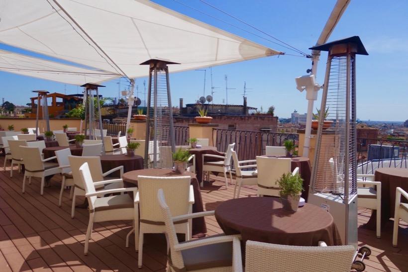 TERRAZZA ROMA - 6th Floor Terrace of Intercontinental dela Ville Roma