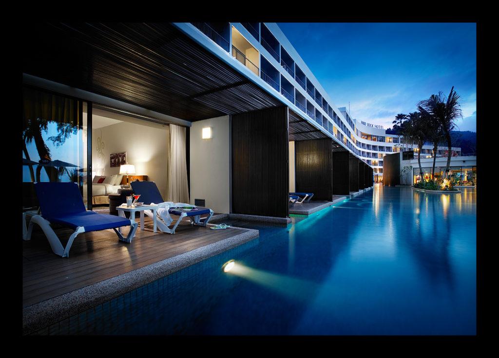 Pool at Hard Rock Hotel Penang, Malaysia