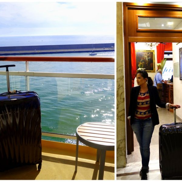 Travelling with the Samsonite Cosmolite FL to the Mediterranean