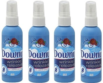 I reached for this often during the cruise. Downy Wrinkle Releaser