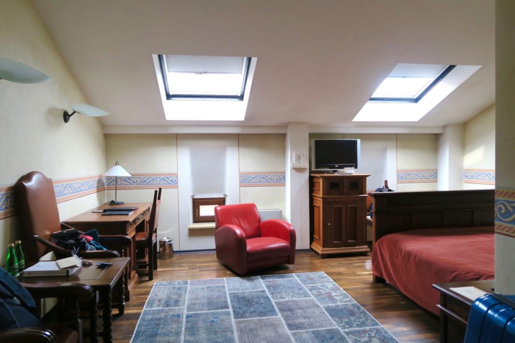 Room at the Copernicus Hotel Krakow