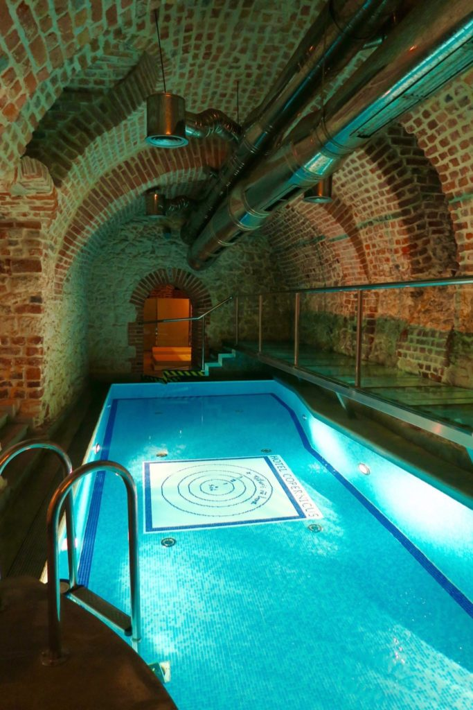 Underground pool, Copernicus Hotel Krakow