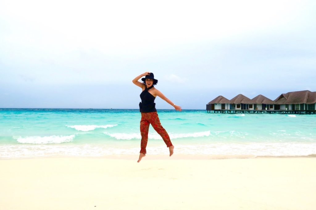 Velassaru Maldives: Always take the weather with you!