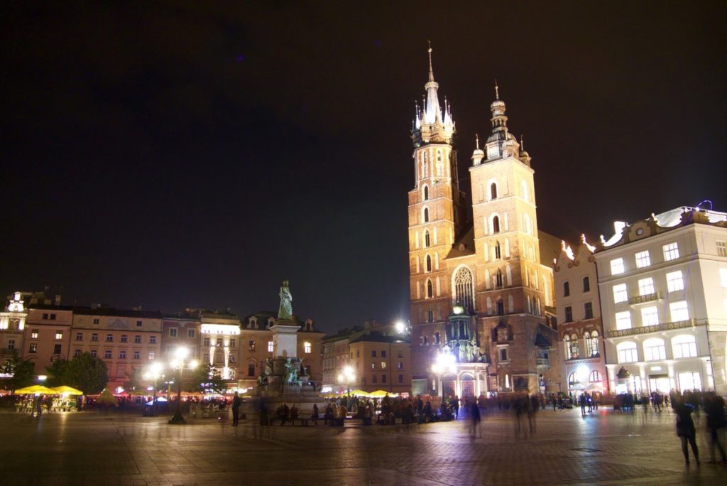 Old Town Square, Krakow