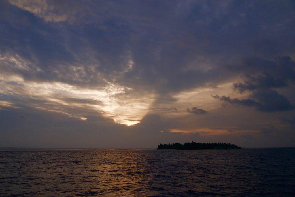 Sunset Cruise views, Velassaru Maldives