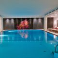 Indoor pool at the Charles Hotel Munich