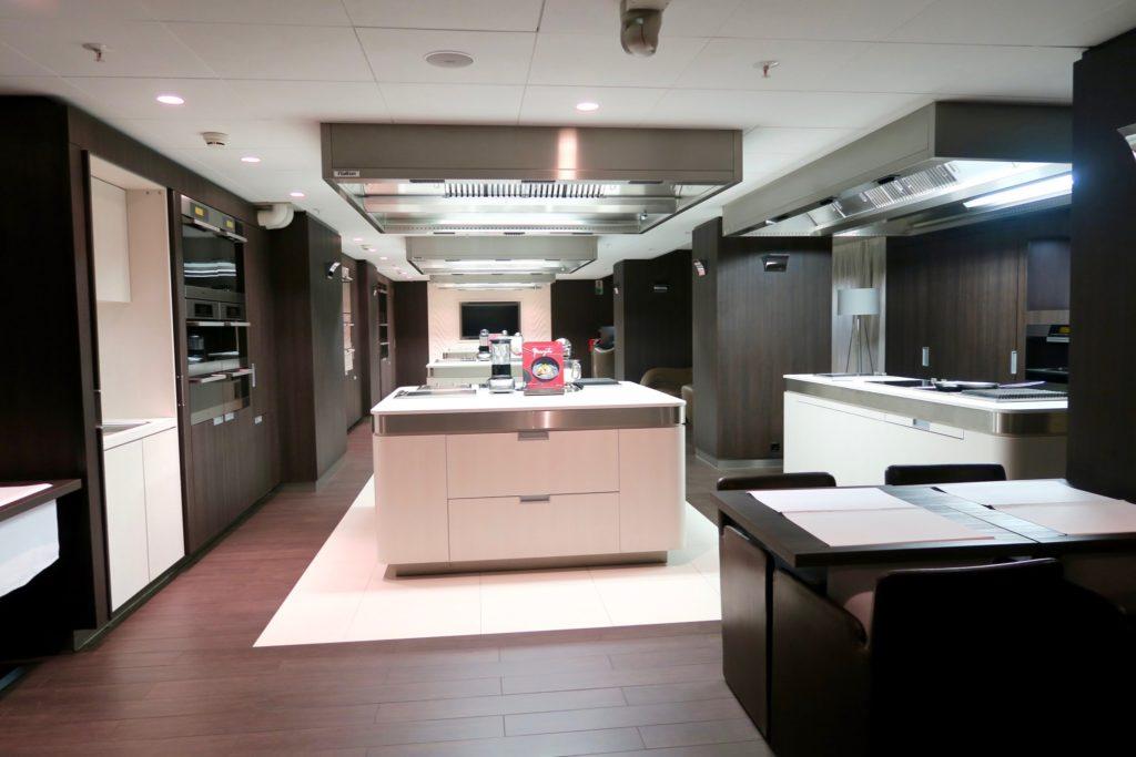 Cooking Studio at the Hotel Okura Amsterdam