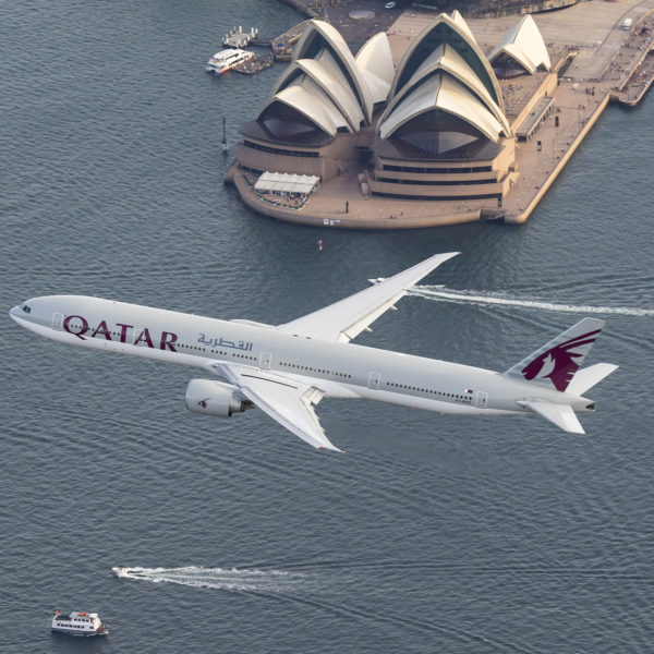 Qatar Airways Commences Daily Flights to Sydney with the Boeing 777-300ER