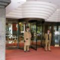 Doormen of Jumeirah Carlton Tower in Knightsbridge, London