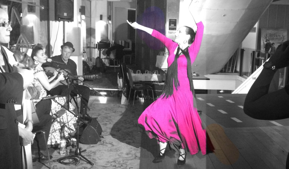 Flamenco dancing from Cathay Pacific's Sydney launch of flights to Madrid - photo by Cathay Pacific