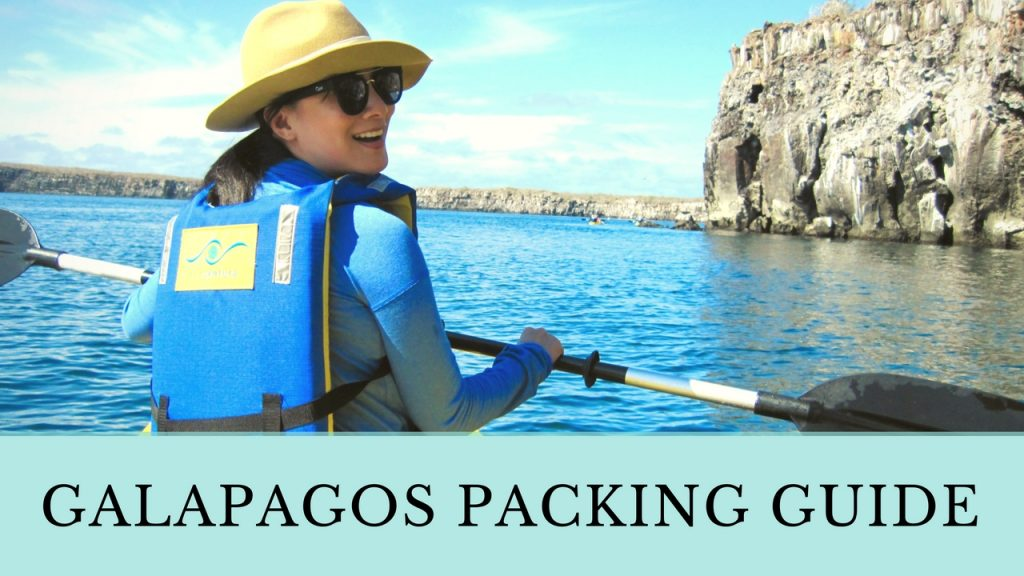 What to Pack for the Galapagos