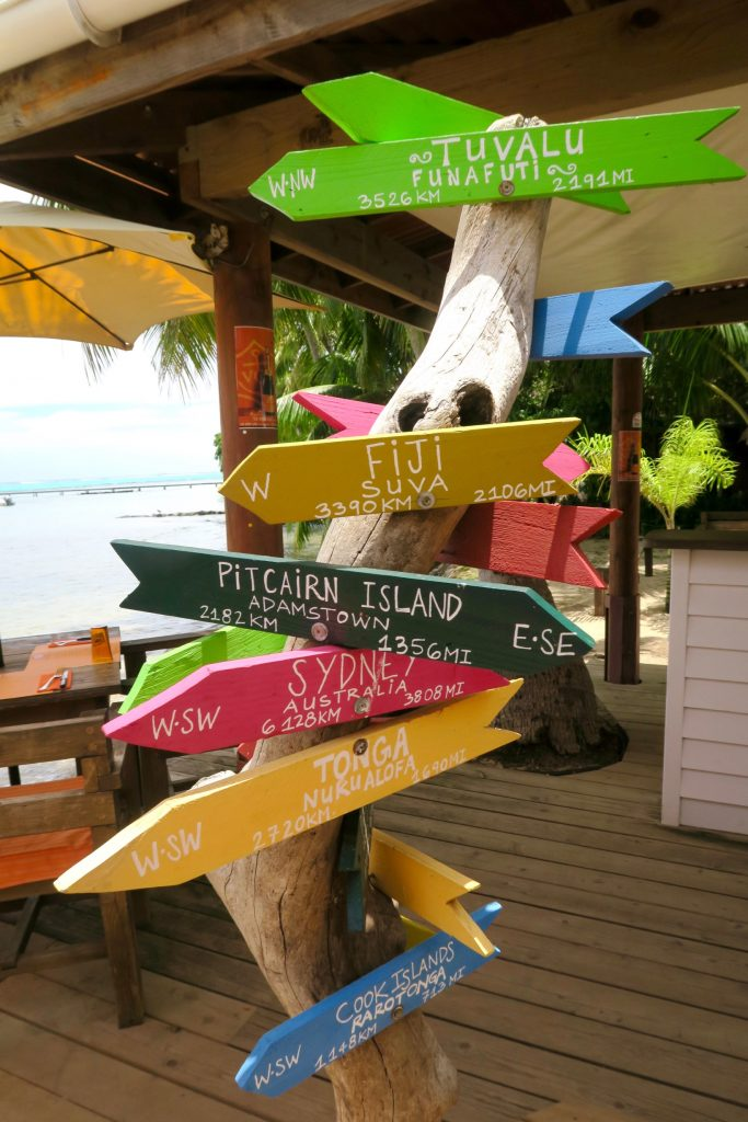 It's okay to get lost in Tahiti