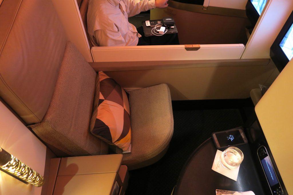 Etihad Airways Business Studio Seat