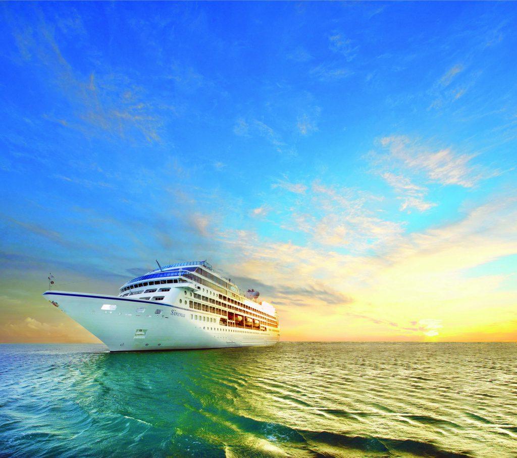 Oceania Cruises goes around Tahiti and her Islands