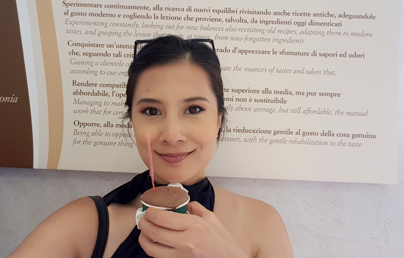 happy to have a gelato break during ,my tour with The Roman Guy