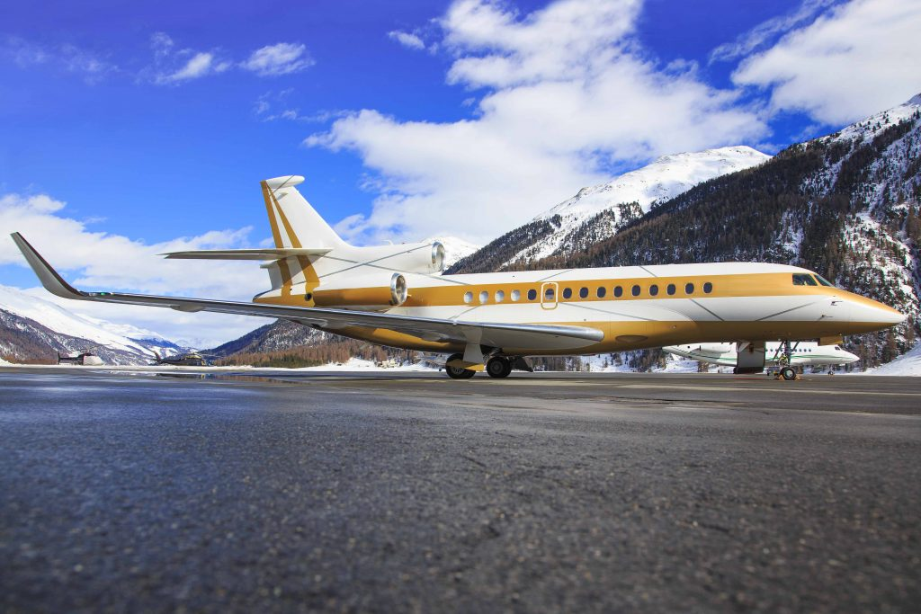 Chartered flights are not just luxurious but also practical