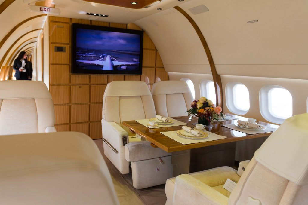 whoever said private jets aren't great are lying, according to Oprah Winfrey.