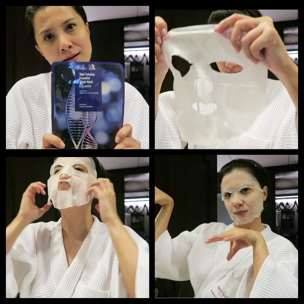now is the time to load up on them sheet masks - when you're travelling