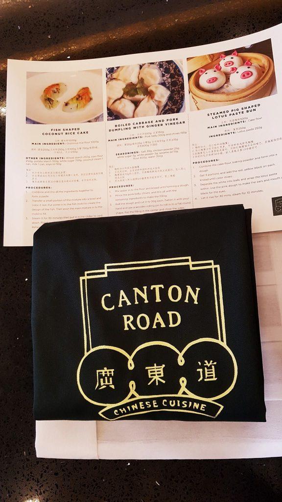 Dumpling making class kit from Canton Road of Shangri-la at the Fort, Manila