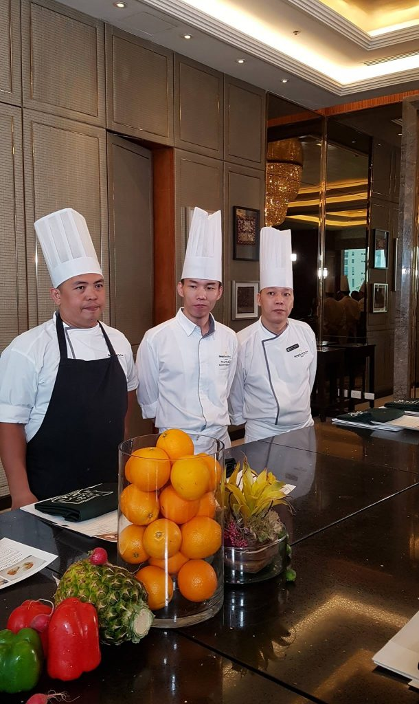 our dumpling class was under the tutelage of Chinese Exec. Chef Wang Wei Qing