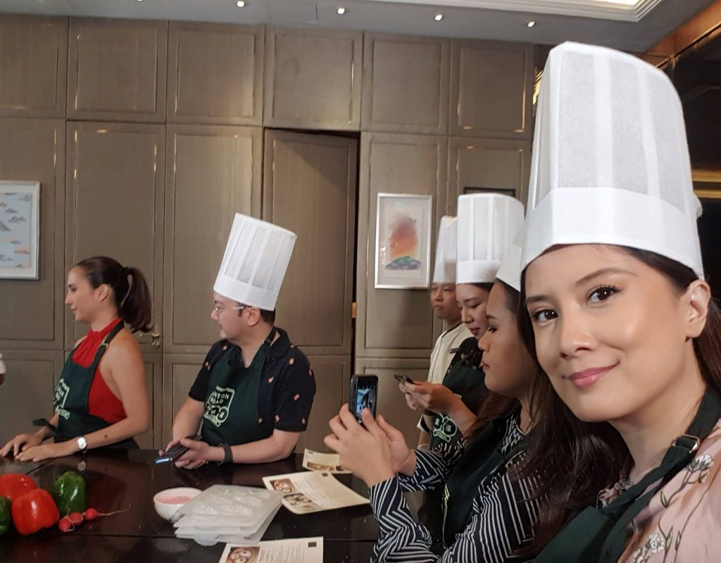 trying my hand at dumpling making for chinese new year 2019
